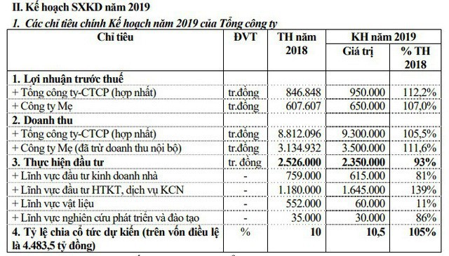 ĐHCĐ Viglacera: Ra mắt tân Chủ tịch HĐQT, lợi nhuận trước thuế có thể vượt mốc 1.000 tỷ đồng trong năm 2019 - Ảnh 1.