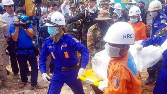 Campuchia buộc tội 4 công dân Trung Quốc vụ sập nhà làm 28 người chết - Ảnh 1.