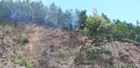 Đà Nẵng: Cháy lớn suốt 5 giờ khiến 3 hecta rừng bị thiêu rụi  - Ảnh 4.