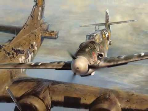 Thấy máy bay của địch bốc khói, phi công Đức bám theo và làm 1 việc không ai có thể ngờ - Ảnh 2.