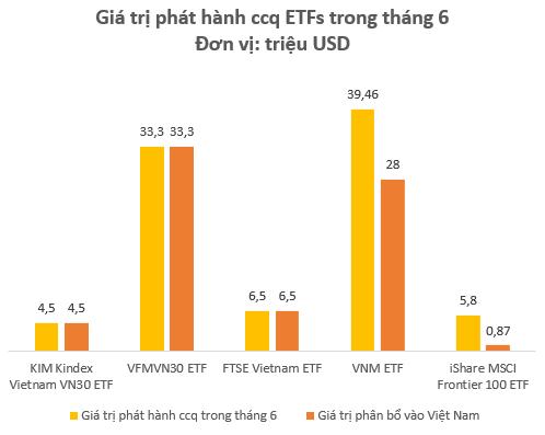 Kỳ vọng FED hạ lãi suất, các quỹ ETFs giải ngân 75 triệu USD vào thị trường Việt Nam trong tháng 6 - Ảnh 3.