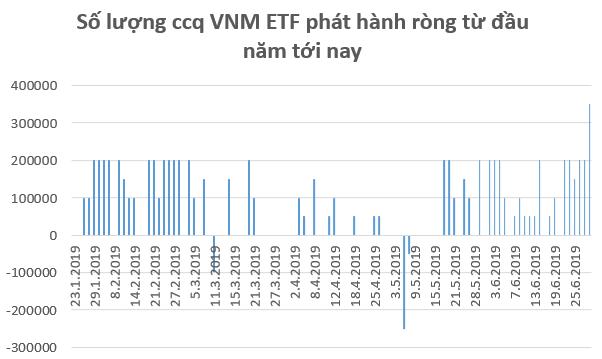 Kỳ vọng FED hạ lãi suất, các quỹ ETFs giải ngân 75 triệu USD vào thị trường Việt Nam trong tháng 6 - Ảnh 1.