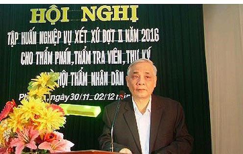Cựu chánh án TAND tỉnh Phú Yên bị truy tố tội tham ô - Ảnh 1.