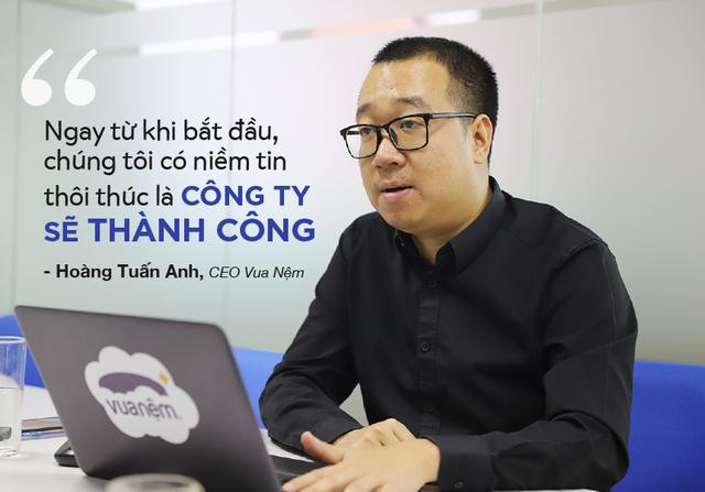 CEO Vua Nệm kể chuyện cắm sổ đỏ lấy tiền kinh doanh và thương vụ đầu tư 100 tỷ đồng từ Mekong Capital - Ảnh 3.