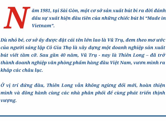 """Hệ thống bán hàng- 1 trong 3 mũi nhọn đổi mới giúp Thiên Long """"Vươn tầm châu Á"""" - Ảnh 1."""