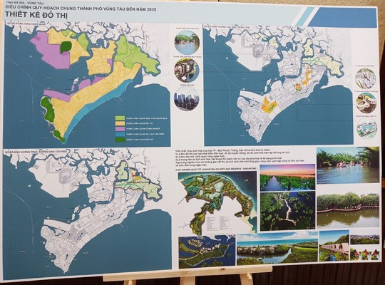 Điều chỉnh quy hoạch chung và quy hoạch sử dụng đất TP Vũng Tàu - Ảnh 1.