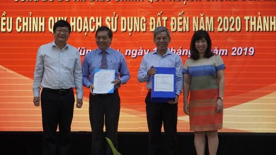 Điều chỉnh quy hoạch chung và quy hoạch sử dụng đất TP Vũng Tàu
