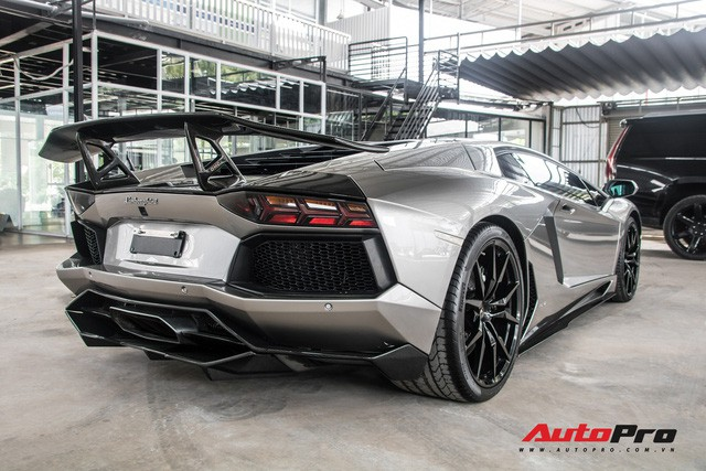 Đánh giá nhanh Lamborghini Aventador độ DMC - xế cưng một thời của doanh nhân Đặng Lê Nguyên Vũ - Ảnh 3.
