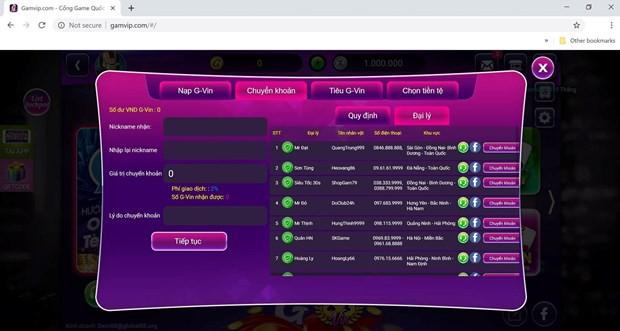 Giật mình với sự hoành hành của sòng bạc online Gamvip kiểu RikVip - Ảnh 2.