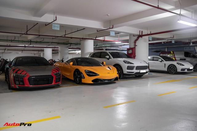 Chiêm ngưỡng garage triệu USD của doanh nhân Nguyễn Quốc Cường đỗ trong một chung cư ở Sài Gòn - Ảnh 1.