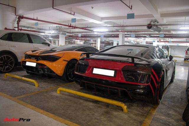 Chiêm ngưỡng garage triệu USD của doanh nhân Nguyễn Quốc Cường đỗ trong một chung cư ở Sài Gòn - Ảnh 2.