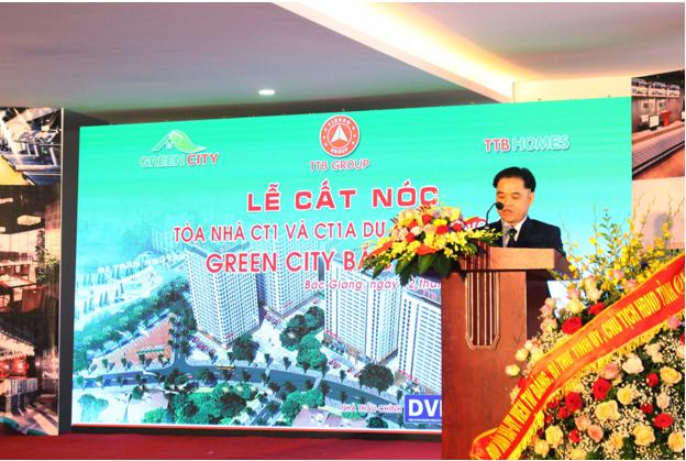 Tập đoàn Tiến Bộ cất nóc chung cư tại Bắc Giang
