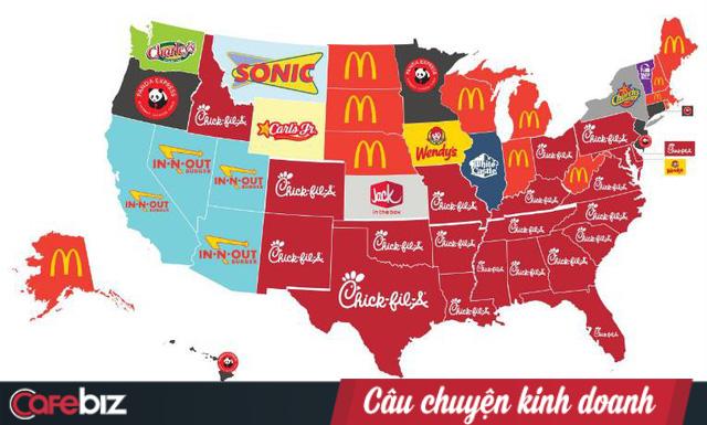 """Nghỉ bán Chủ Nhật nhưng doanh số vẫn gấp 4 lần KFC: Chick-fil-A và chiến lược """"đạp đổ"""" truyền thống nhượng quyền - Ảnh 1."""