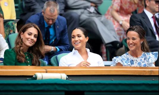 Thực hư chuyện Meghan Markle tự ý bỏ về, để mặc chị dâu Kate một mình khi cả hai cùng xem trận đấu quần vợt đang gây xôn xao dư luận - Ảnh 1.