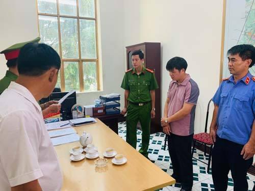 Bắt Phó giám đốc Ban Giải phóng mặt bằng và tái định cư TP Thanh Hóa  - Ảnh 2.
