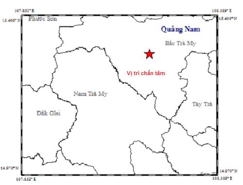 Động đất kèm tiếng nổ lớn rung chuyển Bắc Trà My  - Ảnh 1.