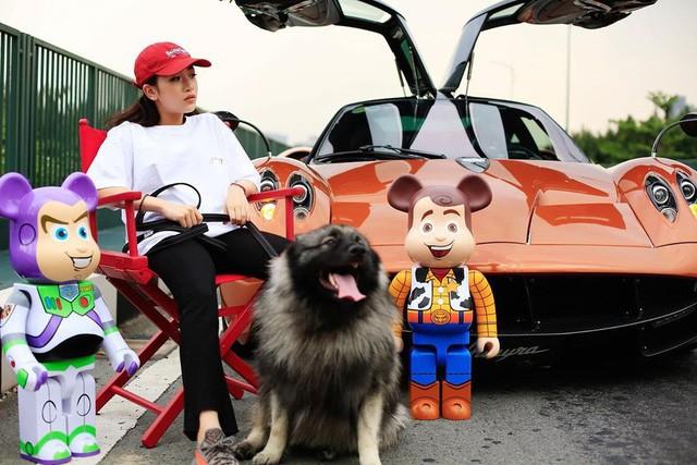 Thú chơi siêu xe và xe siêu sang toàn hàng khủng của vợ cũ đại gia Phạm Trần Nhật Minh cùng con gái - Ảnh 8.