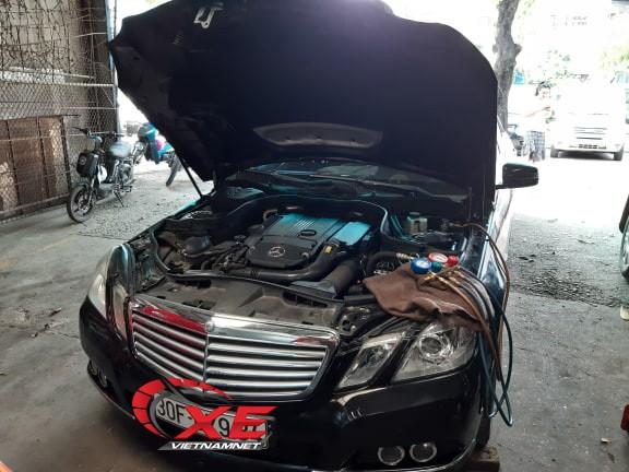 Điều hòa ô tô dở chứng ngày nắng nóng, garage quá tải - Ảnh 3.