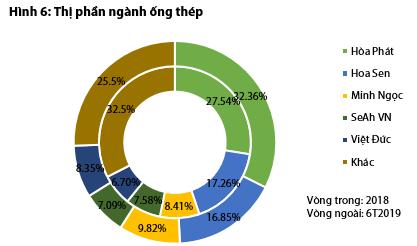 Bức tranh ngành thép và tôn mạ nửa đầu năm: Hòa Phát và Hoa Sen vẫn dẫn đầu, Tôn Đông Á vừa vươn lên mạnh mẽ để vượt mặt Nam Kim - Ảnh 6.