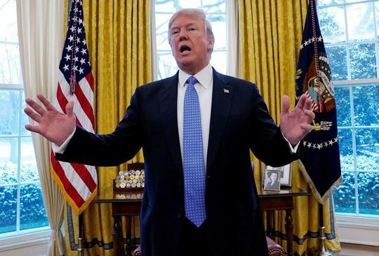 Ông Trump: Trung Quốc có năm kinh tế tệ nhất, Mỹ thì tuyệt nhất - Ảnh 1.