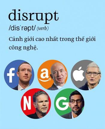 Disrupt: Từ tiếng Anh mà bạn buộc phải hiểu để lý giải sự vĩ đại của Apple, Google hay Microsoft - Ảnh 1.