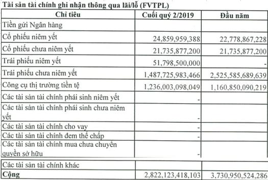 Lợi nhuận VPS giảm 33% trong nửa đầu năm 2019, ghi nhận khoản lỗ 300 tỷ đồng từ hoạt động bán trái phiếu chưa niêm yết - Ảnh 1.