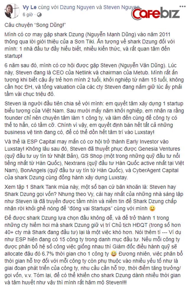 Nghi vấn dàn cá mập là chỗ thân quen với startup vừa nhận được deal 6 triệu USD Luxstay: Lộ hình ảnh Shark Hưng, Shark Việt cùng Shark Dzung trong sự kiện của Luxstay năm ngoái - Ảnh 5.