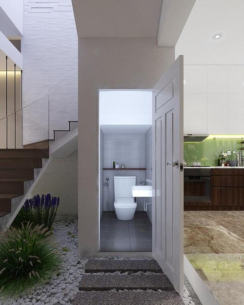 Nhà phố 56 m2 thiết kế đẹp như biệt thư hạng sang - Ảnh 5.