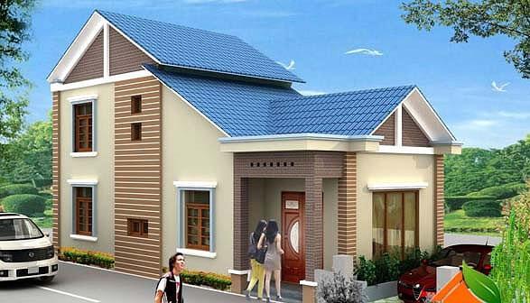 Mẫu nhà cấp 4 gác lửng mái Thái đẹp miễn chê chỉ 200- 300 triệu đồng - Ảnh 7.