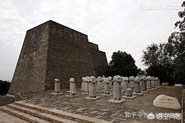 Lăng mộ Võ Tắc Thiên ngàn năm không ai xâm phạm nhưng vì sao 61 tượng bên trong mất đầu? - Ảnh 4.