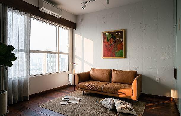 Căn hộ chật hẹp bỗng đẹp miễn chê nhờ thiết kế nội thất thông minh - Ảnh 5.
