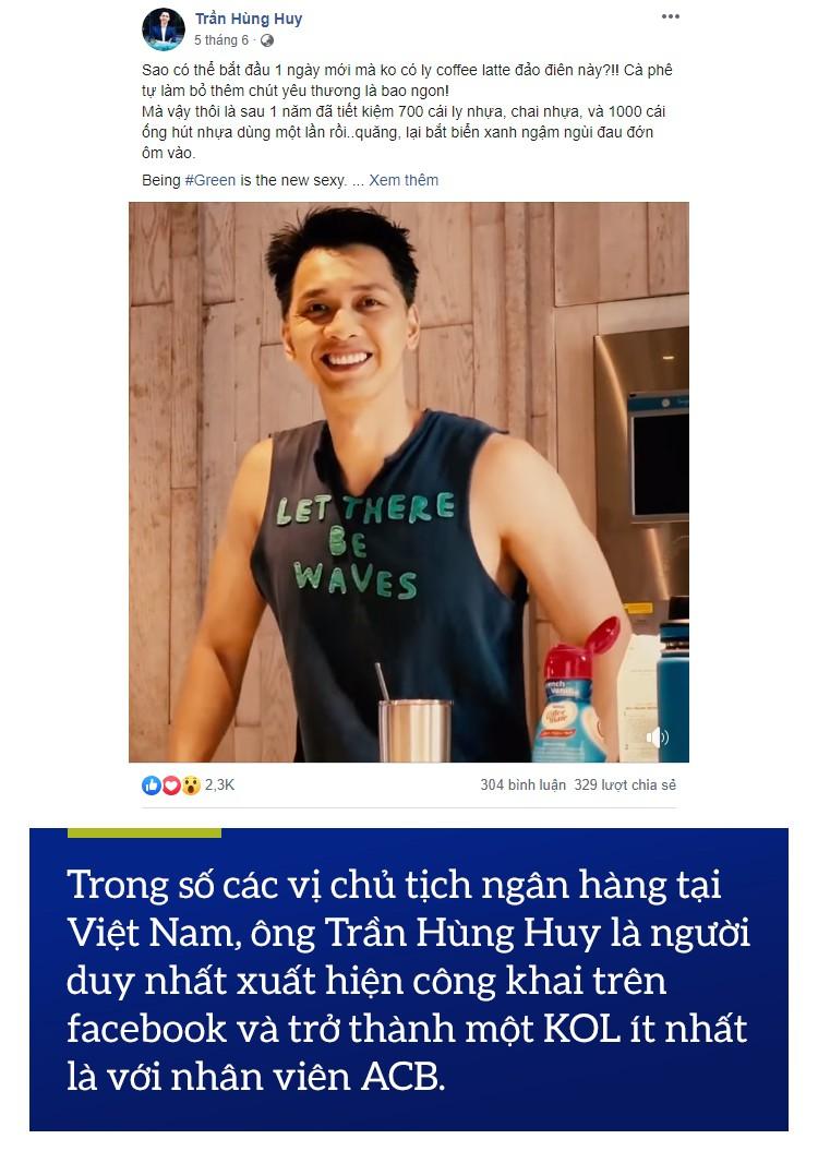 Trần Hùng Huy: Vị Chủ tịch ngân hàng đặc biệt nhất Việt Nam - Ảnh 3.