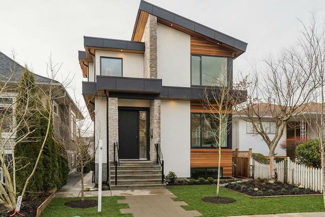 Nhà phố hẹp vẫn đẹp nao lòng nhờ thiết kế tối giản - Ảnh 2.