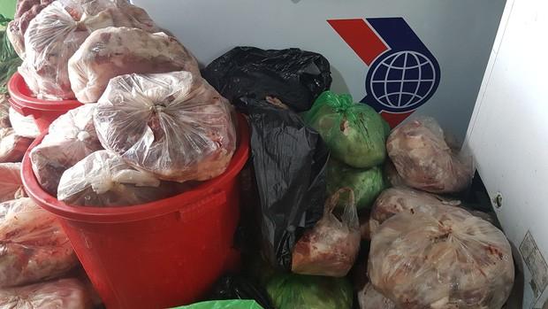 Phát hiện kho chứa hàng trăm cân thịt lợn bốc mùi hôi thối tại Đà Lạt - Ảnh 2.