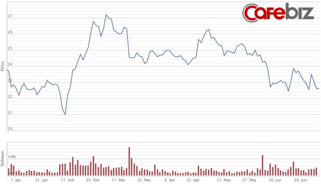 Nỗi buồn của ông trùm thép Trần Đình Long: Giá quặng sắt lên cao kỷ lục kéo lợi nhuận liên tiếp đi xuống, giá cổ phiếu sụt giảm hơn 30% - Ảnh 2.
