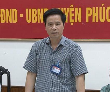 Sẽ xem xét bãi miễn tư cách đại biểu HĐND TP Hà Nội với Bí thư huyện Phúc Thọ - Ảnh 1.