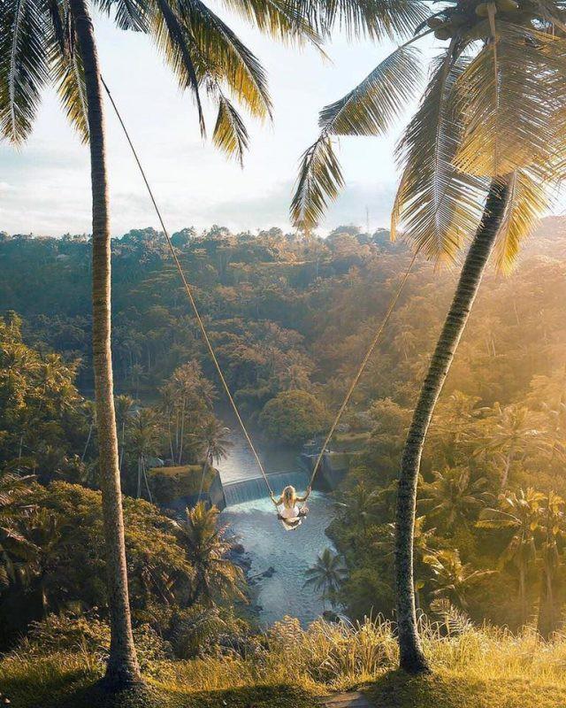 Trải nghiệm du lịch Bali Swing – Trò đu dây mạo hiểm nhưng vạn người mê ở quốc đảo Indonesia - Ảnh 3.