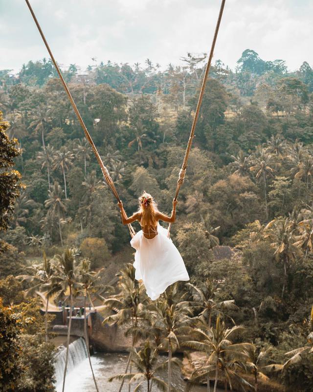 Trải nghiệm du lịch Bali Swing – Trò đu dây mạo hiểm nhưng vạn người mê ở quốc đảo Indonesia - Ảnh 5.