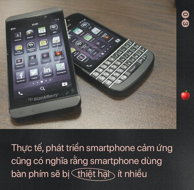 Bài học để đời: Giữa Apple và BlackBerry, kẻ thua cuộc là kẻ không dám... tự bắn vào chân mình - Ảnh 4.