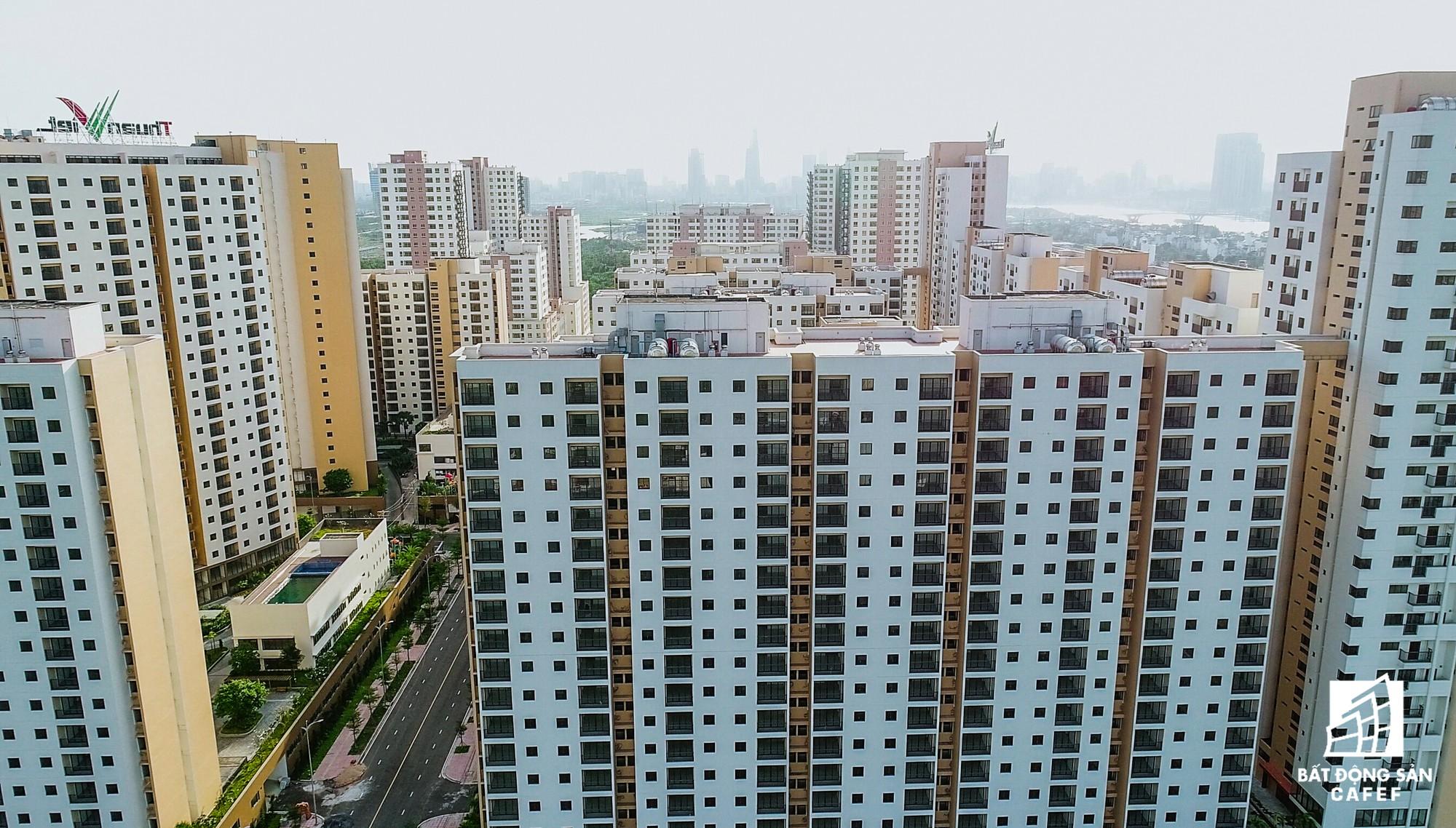 Toàn cảnh khu tái định cư đồ sộ nhất TPHCM, chục nghìn căn hộ không ai ở, bán đấu giá nhiều lần thất bại - Ảnh 16.