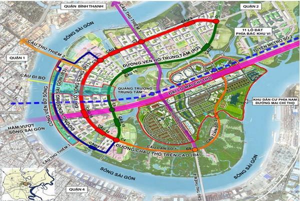 Đòn bẩy hạ tầng kích thị trường BĐS khu Nam TP.HCM vượt mặt khu Đông - Ảnh 1.