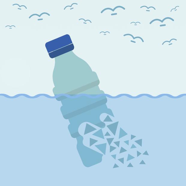 Hàng nghìn tỉ mảnh rác nhựa dưới đại dương có thể được giải quyết triệt để nhờ phát minh này - Ảnh 2.