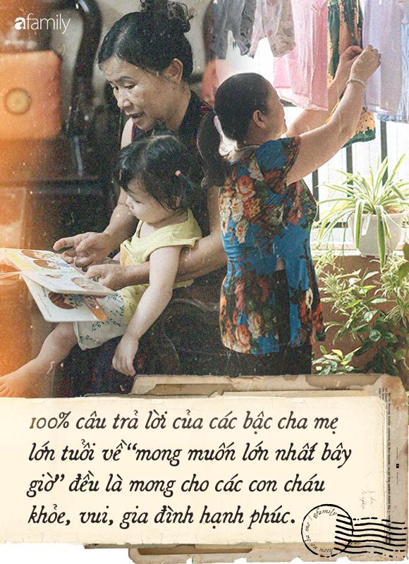 Vẫn đinh ninh biếu tiền và chút hỏi han là đủ, nhưng nghe cha mẹ kể điều ước muốn chúng ta sẽ phải giật mình - Ảnh 3.