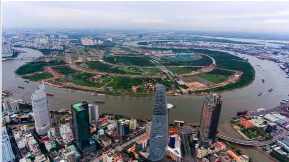 Ngày mai, TP.HCM họp báo việc thực hiện kết luận Khu đô thị mới Thủ Thiêm - Ảnh 1.