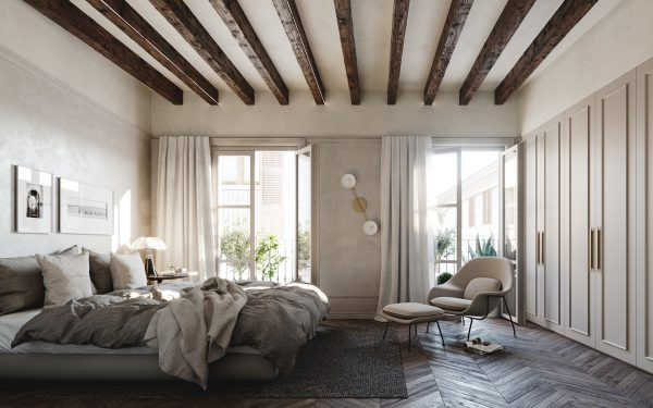 Những mẫu ghế đẹp kê trong phòng ngủ - Ảnh 2.