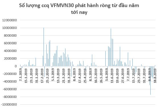 Các quỹ ETFs tiếp tục bán ròng hàng trăm tỷ trên thị trường Việt Nam trong tuần 12-16/8 - Ảnh 2.