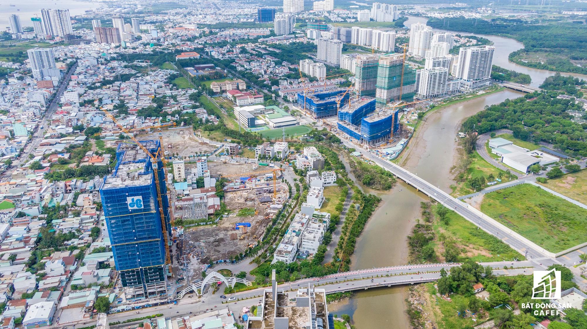 Cung đường dự án tỷ đô khiến bất động sản khu Nam Sài Gòn trỗi dậy - Ảnh 8.