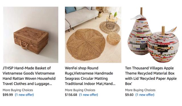 Hàng loạt sản phẩm truyền thống của Việt Nam được bán với giá cực cao trên Amazon, eBay - Ảnh 3.