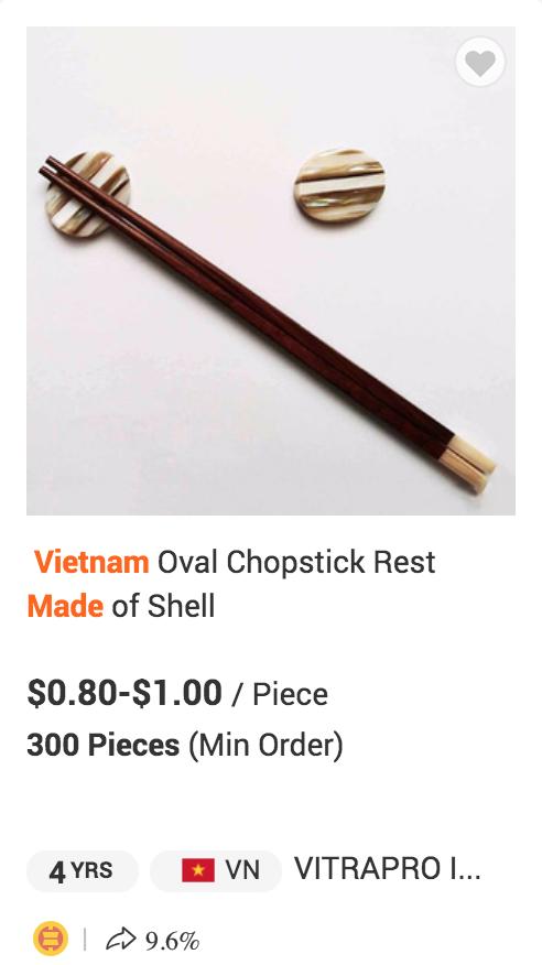 Hàng loạt sản phẩm truyền thống của Việt Nam được bán với giá cực cao trên Amazon, eBay - Ảnh 10.