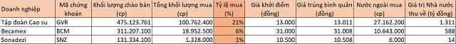 IPO ế ẩm, cổ phiếu Tập đoàn Cao su, Becamex, Sonadezi lại dậy sóng khi lên UPCoM - Ảnh 1.